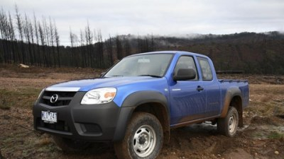 Mazda Updates BT-50 Range For 2009