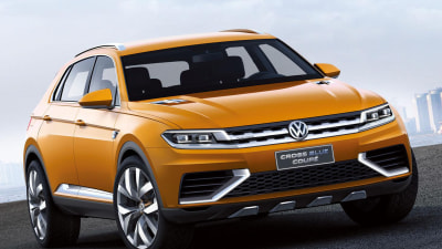 2015 Volkswagen Tiguan Teased By New CrossBlue Coupe Concept