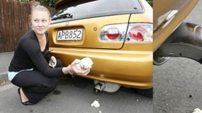 Kiwi Vigilante Fills Fart-Can Exhausts With Expanding Foam