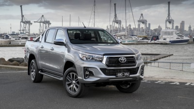 Toyota adds DPF-saving switch to Hilux