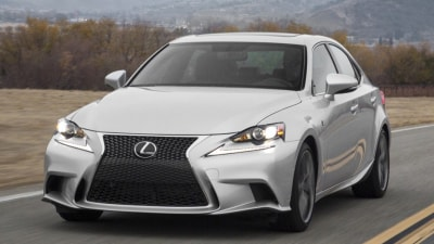 2014 Lexus IS To Make Public Debut At Goodwood Festival Of Speed