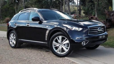 Infiniti FX37, FX30d and FX50S Premium Launch Review