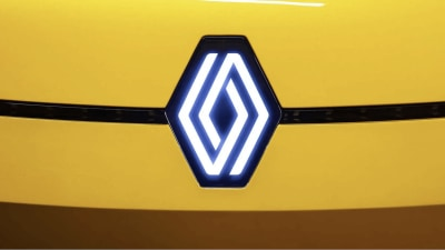 Renault unveils new badge