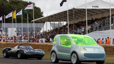 Renault Z.E. Concept Tours The Goodwood Festival Of Speed