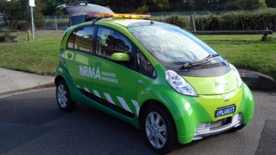 NRMA Launches i-MiEV Assistance Vehicle And Mobile EV Recharger