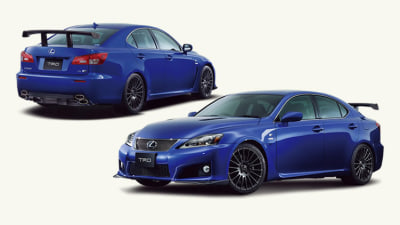Lexus IS F Circuit Club Sports Package Released, Australian Availability Unclear