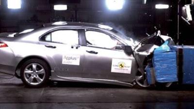 2009 Honda Accord Euro Scores 5-Star Euro NCAP Rating... Again