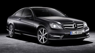 2012 Mercedes-Benz C-Class Coupe Surfaces