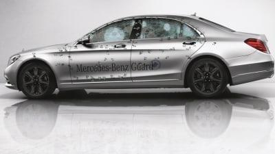 Bullet-proof 2015 Mercedes-Benz S-Class Guard Previewed