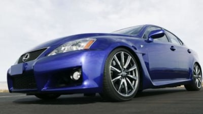 Lexus IS-F officially announced in Japan