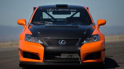 Lexus IS F CCS-R To Tackle Pikes Peak International Hill Climb