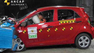 Kia Picanto Retains 5-Star ANCAP Rating But Audit Finds Increased Injury Risk