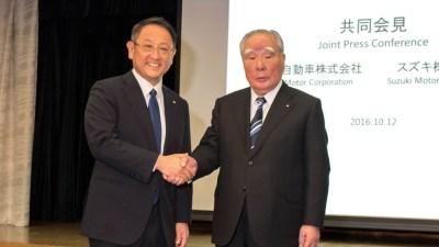 Toyota buys stake in Suzuki
