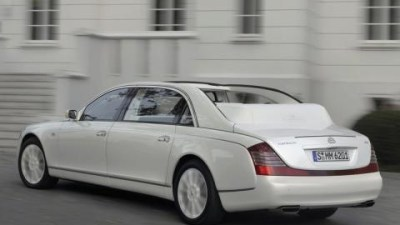 Maybach Landaulet priced for the super rich