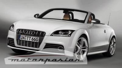 Audi TT-S sneak-peak prior to Detroit unveiling