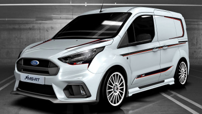 UK-based MS-RT reveals limited-edition RS120 sports van