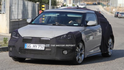 Hyundai Veloster Turbo Spied Testing Ahead Of Australian Debut