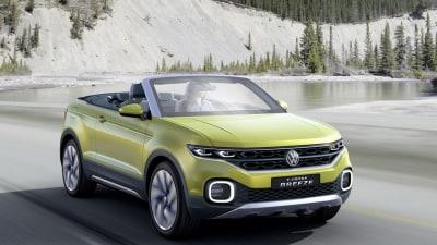 GENEVA MOTOR SHOW | Volkswagen's T-Cross Breeze SUV Concept Debuts