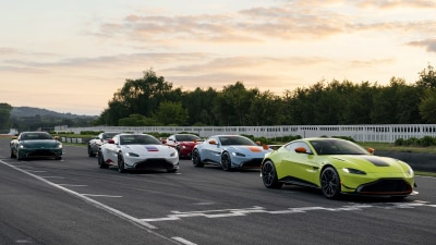 Aston Martin Vantage Heritage Racing Editions revealed