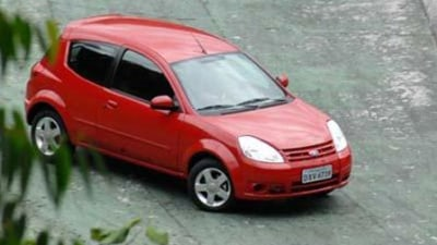 2008 Ford Ka undisguised