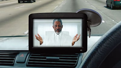 Men Use GPS More, Morgan Freeman Favourite Guidance Voice: AAMI