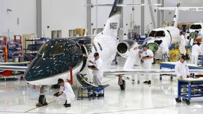 First Production HondaJet Gets Ready To Take Off