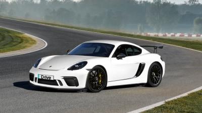 Coming Soon: Porsche 718 Cayman GT4