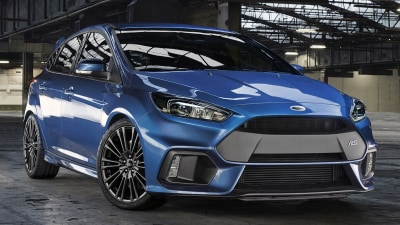 New Ford Focus RS Revealed, Australian Launch Confirmed: Official