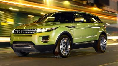 Range Rover Evoque Australian Pricing Revealed