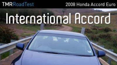 2008 Honda Accord Euro Road Test Review