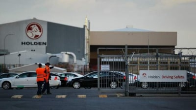 Holden demise the price of a global economy