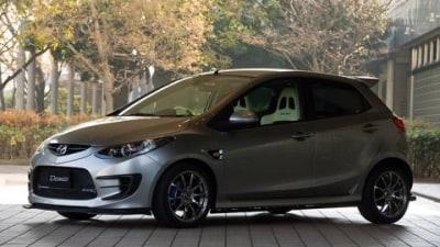 Mazdaspeed Demio Concept unveiled