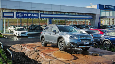 Subaru On A Roll - Best Ever Market Share, New Melbourne Dealership