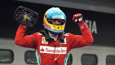 F1: Alonso Names Rivals, Ferrari Speaks On Massa's Future