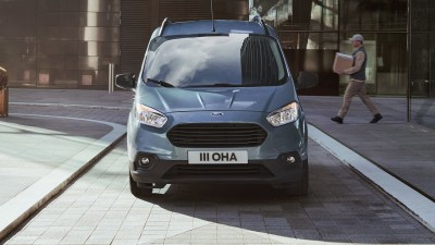 Ford to launch new European-built small van in 2023, electric version due in 2024