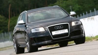 MTM Tuned Audi RS6 Avant Cracks 702hp