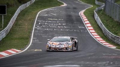 Lamborghini snatches Nurburgring lap record