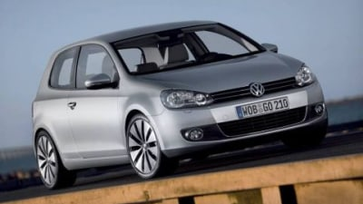 2009 Golf VI Awarded Maximum Five-Star Euro NCAP Safety Rating