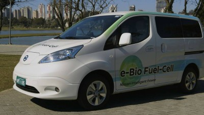Nissan Unveils World-First Solid Oxide Fuel-Cell Vehicle
