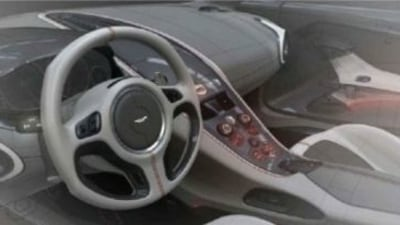 Aston One-77 Interior Revealed Via Leaked Document?