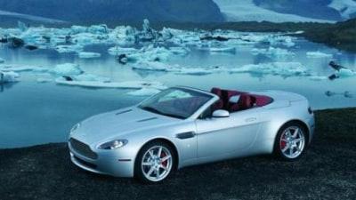 Top Gear test the Aston Martin V8 Vantage Roadster