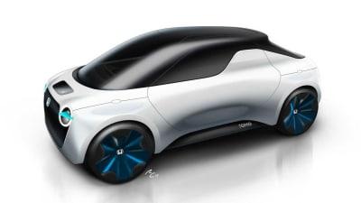 Honda shows tiny electric ute concept