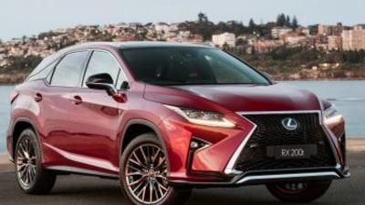 Lexus reveals expanded RX range