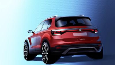 Volkswagen teases T-Cross baby SUV
