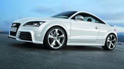 New 2009 Audi TT RS Official Images