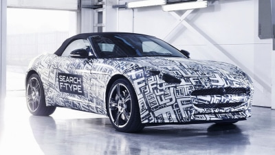 Jaguar F-Type Roadster Teased, Production Debut In Late 2012