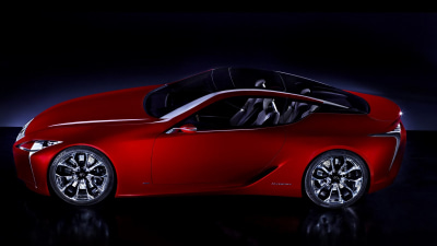 Lexus LF-Lc Hybrid Supercar Concept Surfaces Online In Leaked Images