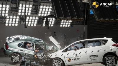 ANCAP Demonstrates New Vs Old Crash Safety