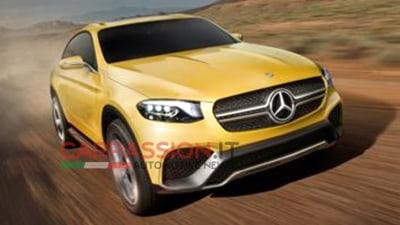Mercedes-Benz GLC Coupe Concept Surfaces Online