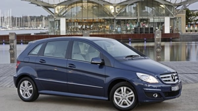 2009 Mercedes-Benz B-Class – Now With Extra Green